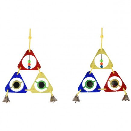 Vogelspeelgoed Triangel