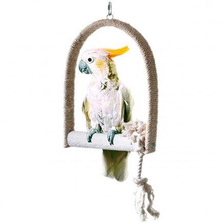 Schommelsisal Met Zitstok Voor Grote Vogels